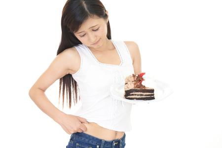 다이어트에 여자