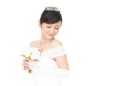 美しい花嫁 写真素材