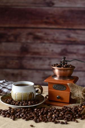 decaf: Coffee time