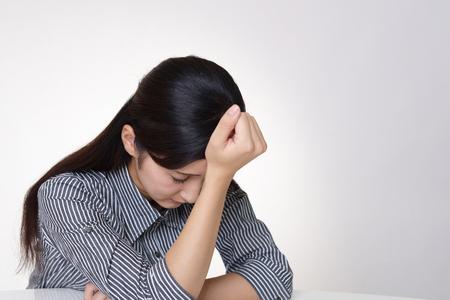 Woman in depression Фото со стока