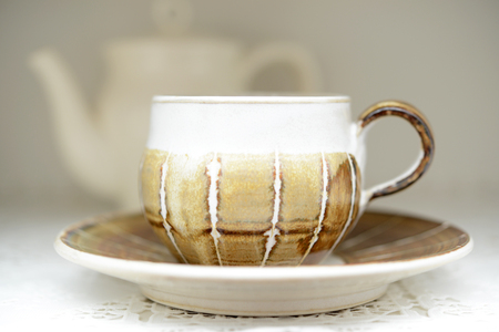 necessities: A cup and saucer
