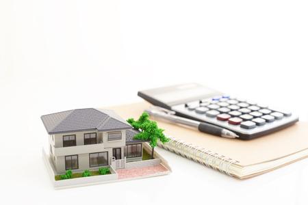 家のモデル 写真素材
