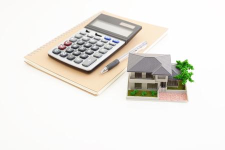 住宅モデル 写真素材