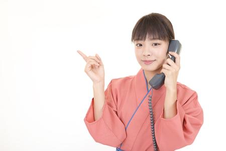 A Japanese restaurant waitress