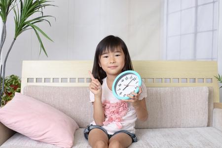 日本: Smiling Asian girl 写真素材