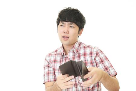 失望したアジア男