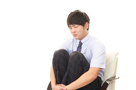 Businessman in depression 写真素材