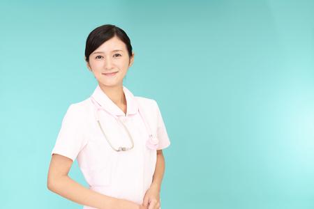 Smiling female nurse Archivio Fotografico