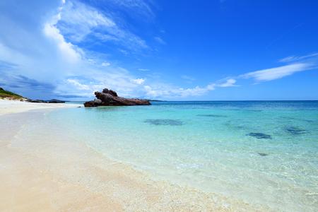 Summertime at the beach 免版税图像