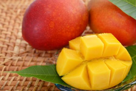 Fresh mangoes Stockfoto