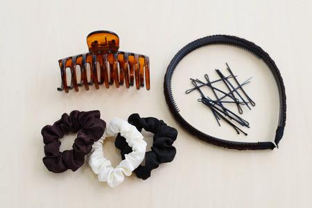 Hair accessories for women Archivio Fotografico