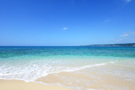 Beautiful beach in Okinawa