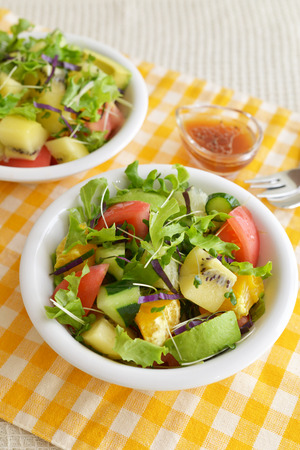 Healthy and delicious Fresh vegetable salad