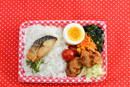 Tasty homemade lunch box