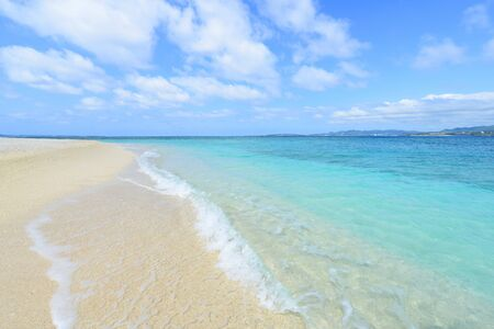Picture of a beautiful beach in Okinawa