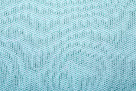 Mint knitting wool texture background Crocheted fabric texture 写真素材