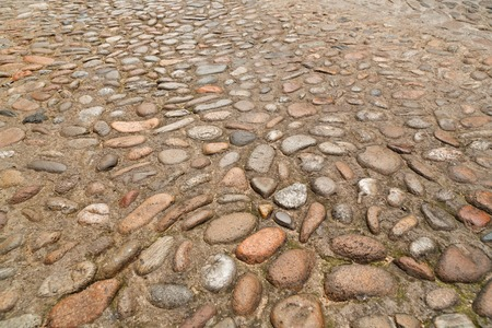 Vintage stone paving texture. Abstract structured background