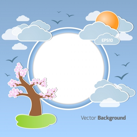 Vector background for your own design Vector