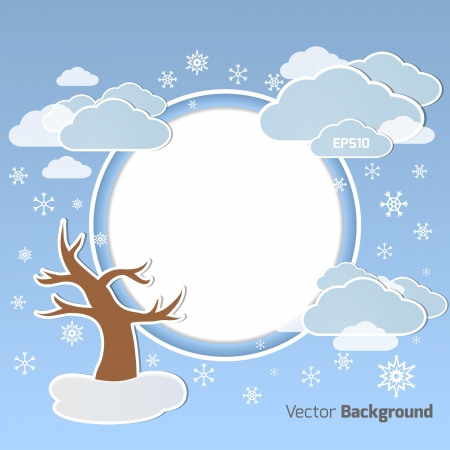 Vector background for your own design