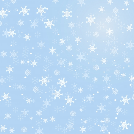 Abstract winter background for your own design Illustration