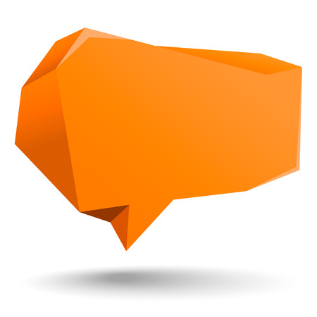 Abstract rough speech bubble for Your Own Design