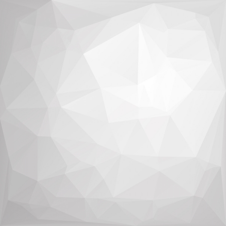 Abstract polygonal background of crumpled paper