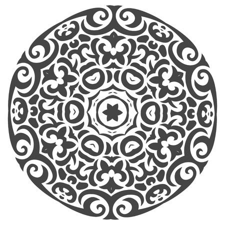独自のデザインの部族スタイルで抽象的なベクター飾り  イラスト・ベクター素材