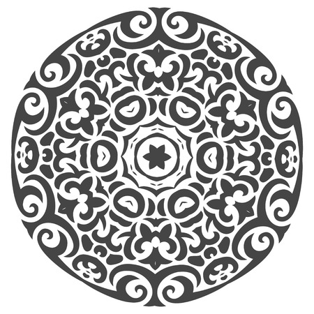 Abstract Vector Ornament in Tribal Style for Your own design Vector
