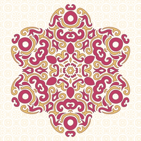 Abstract Vector Ornament in Tribal Style for Your own design