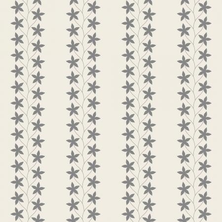 Floral Vintage Seamless Pattern Illustration