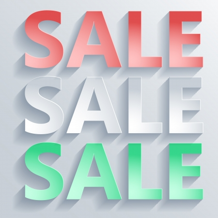 Abstract paper word sale for your own design