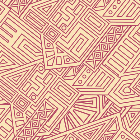 Aztec Vector Seamless Pattern