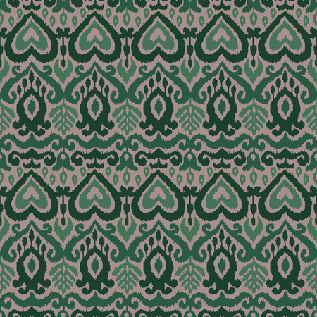 Ethnic vector seamless pattern. Ikat textile stylized. Eastern embroidery tile. Indian Scandinavian Mexican Pakistan woven ornament. Ilustrace