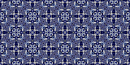 Creative scandinavian vector seamless pattern. Folklore geometric tile. Barbarian ornament. Modern aztec design.