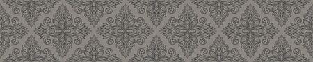 Azulejos ceramic tile design. Talavera tracery motif. Unique creative endless fill.