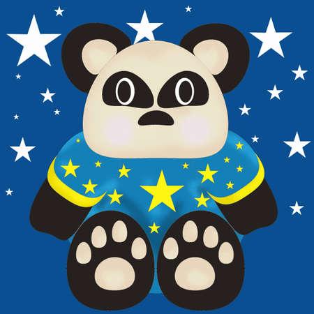 Bear illustration 1 Stock Illustration - 9119154