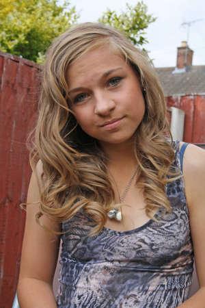 stunning teenage girl Stock Photo - 10423391