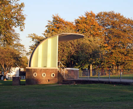 park band stand