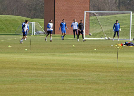 mansfield town football team training
