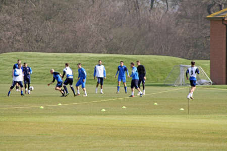 mansfield town football team training