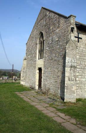 old english church photo