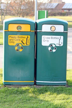 recycling bins photo