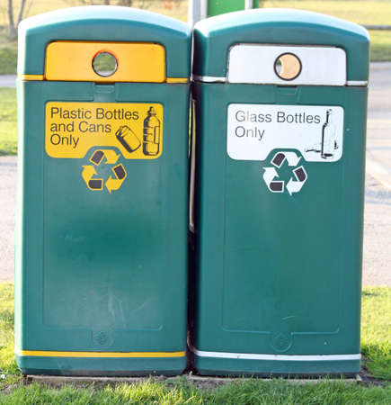 recycling bins Stock Photo - 13253433