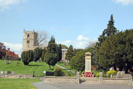 worcestershire: church Stock Photo