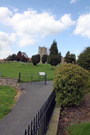 church on the hill  photo