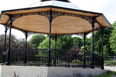 stunning bandstand photo