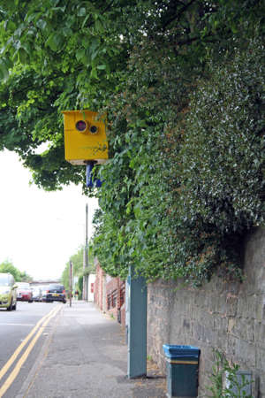 a traffic speed camera  photo