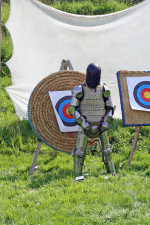 a man dressed in armor Stock Photo - 14814371
