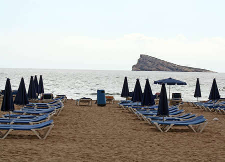 benidorm beach photo