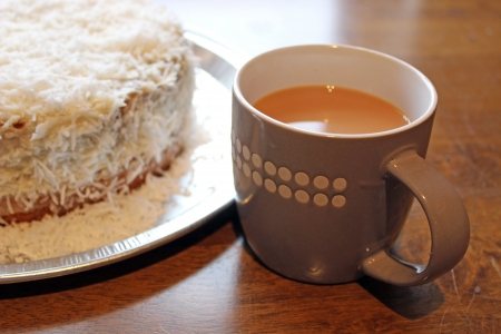tea and cake photo